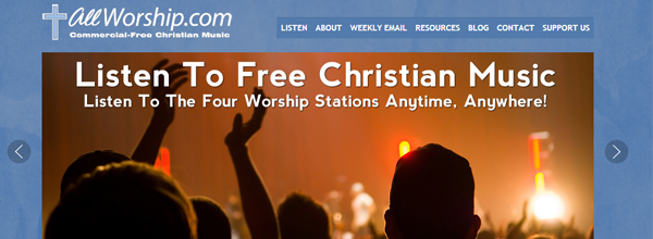 allworship-non-profit-website-design